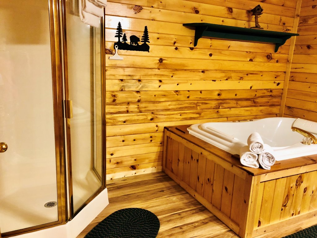 Photo of a Sevierville Cabin named Kickin' Back Jack - This is the forty-third photo in the set.