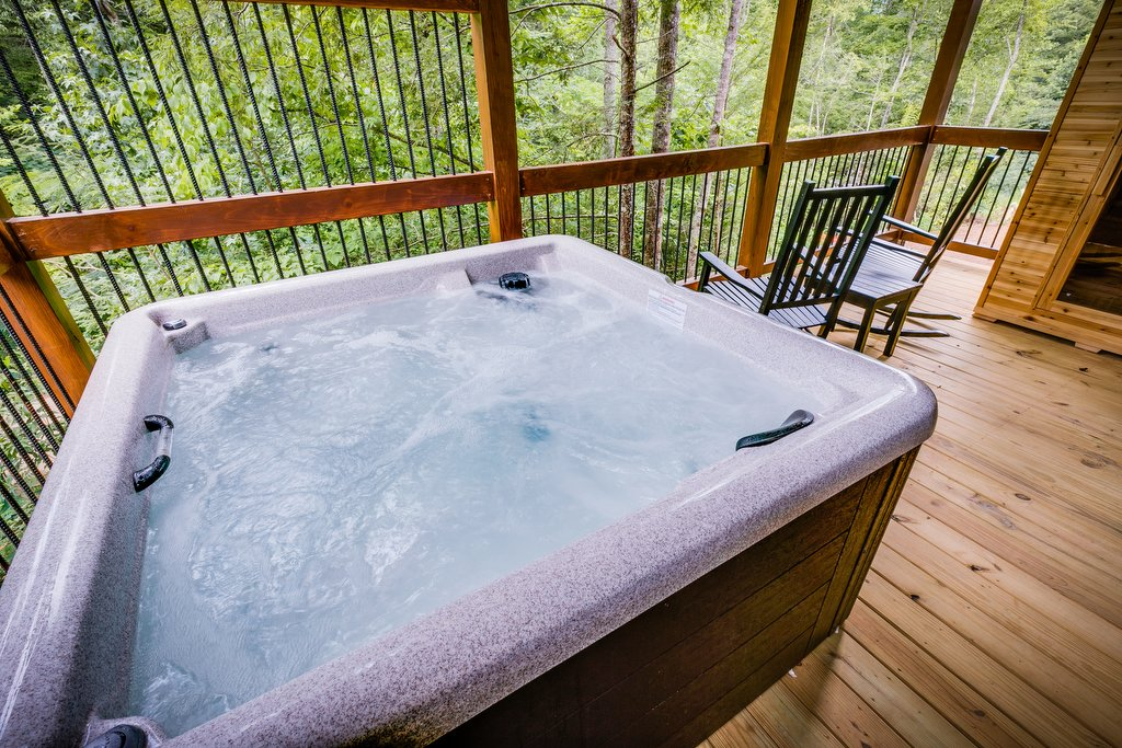 Photo of a Gatlinburg Cabin named Marco Polo - This is the eighth photo in the set.