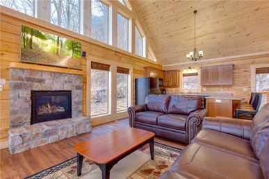 Back To Nature, 2 Bedroom, Fireplace, Hot Tub, Wifi, Pet Friendly, Sleeps 6