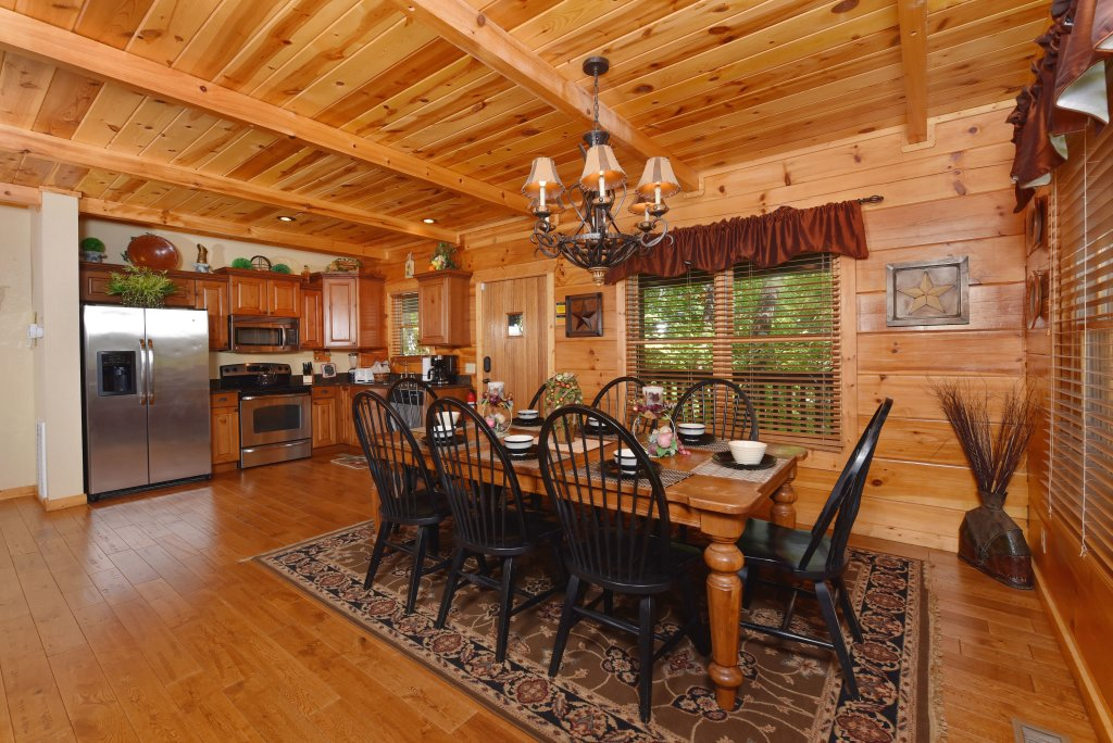 Photo of a Pigeon Forge Cabin named Majestic Forest - This is the eighth photo in the set.