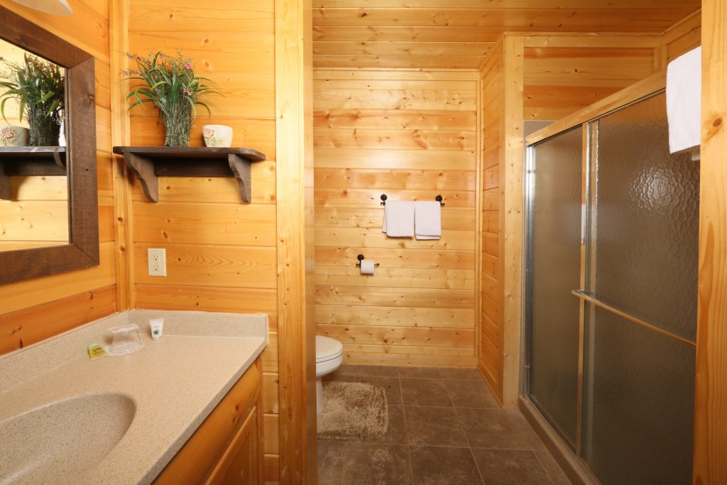 Photo of a Pigeon Forge Cabin named Howling Wolf - This is the fourteenth photo in the set.