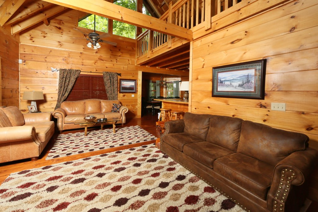 Photo of a Sevierville Cabin named Southern Hospitality - This is the eighth photo in the set.