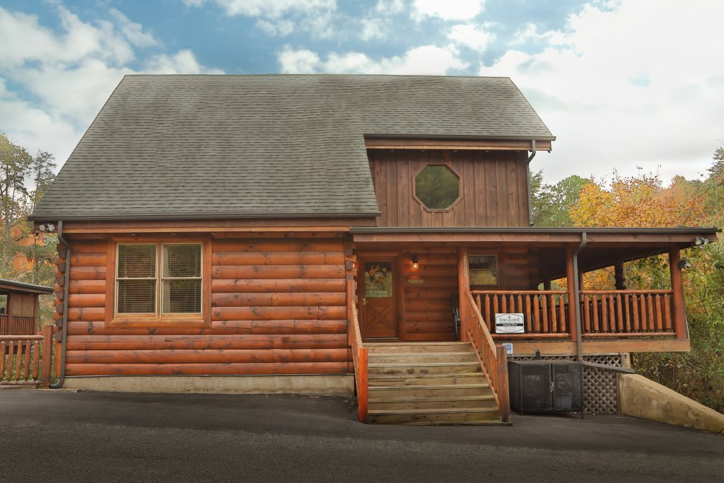 Photo of a Sevierville Cabin named Amazing Grace - This is the forty-fifth photo in the set.