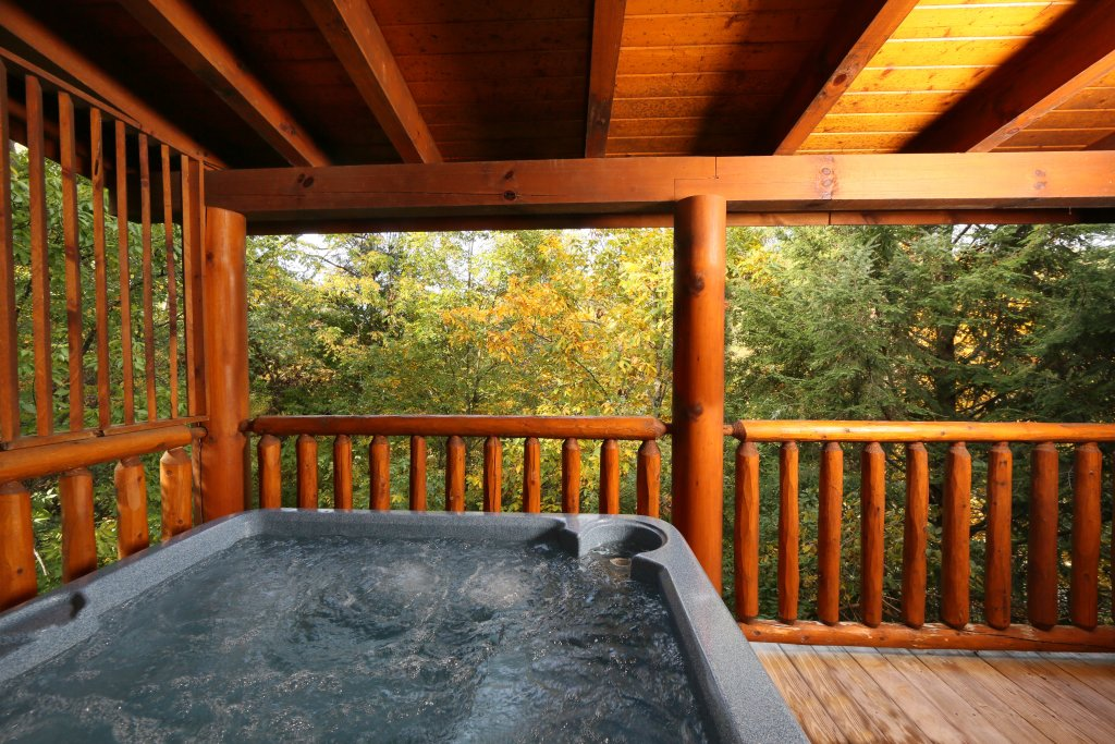 Photo of a Pigeon Forge Cabin named Little Chateau - This is the fourth photo in the set.