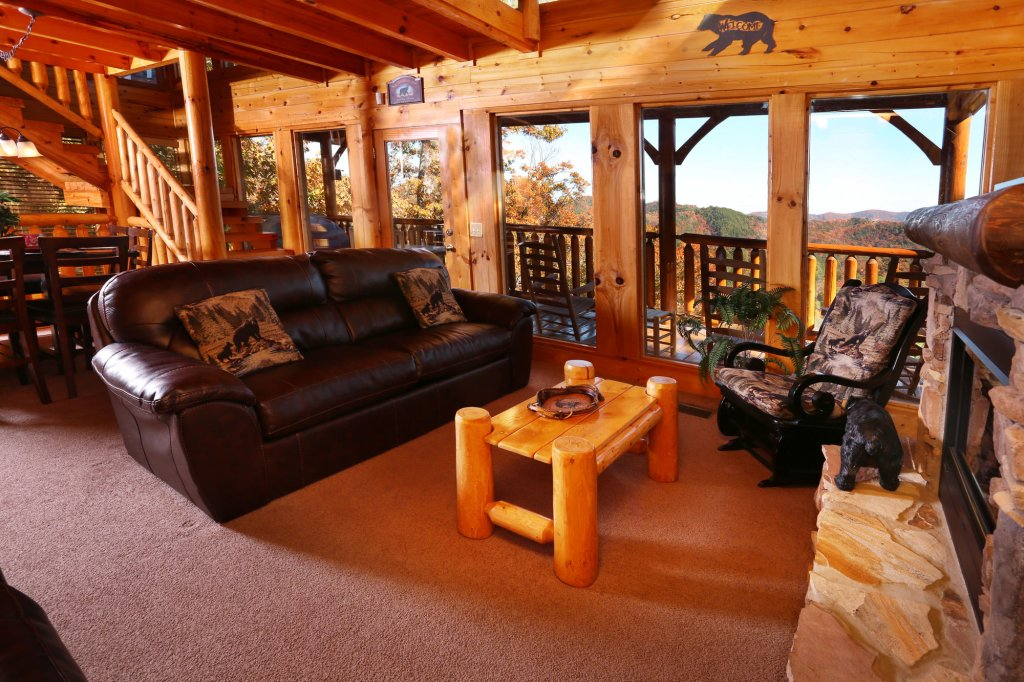 His Amazing Grace Cabin In Sevierville W 2 Br Sleeps12