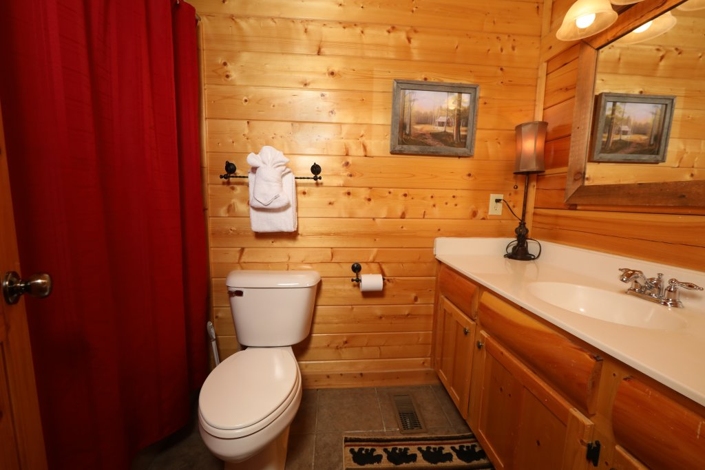 Photo of a Sevierville Cabin named Bear-a-dise In The Smokies - This is the twenty-fifth photo in the set.