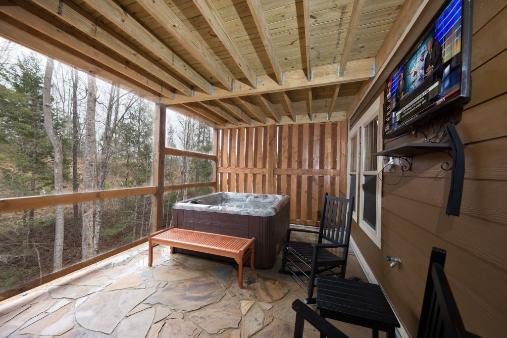 Photo of a Gatlinburg Cabin named Back Stroke - This is the sixth photo in the set.