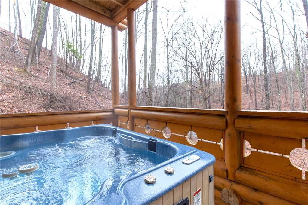 Photo of a Gatlinburg Cabin named Enchanted Forest - This is the second photo in the set.
