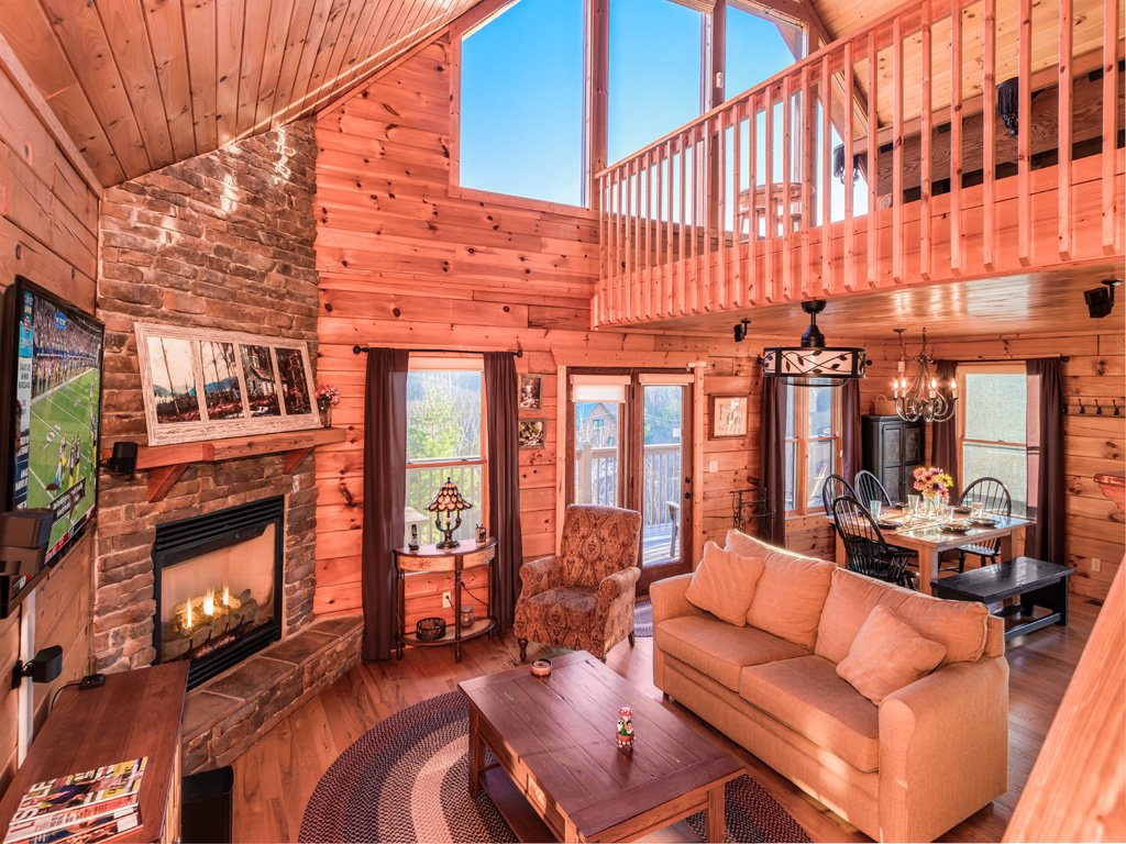 Photo of a Gatlinburg Cabin named Gatlinburg Summit Views - This is the third photo in the set.