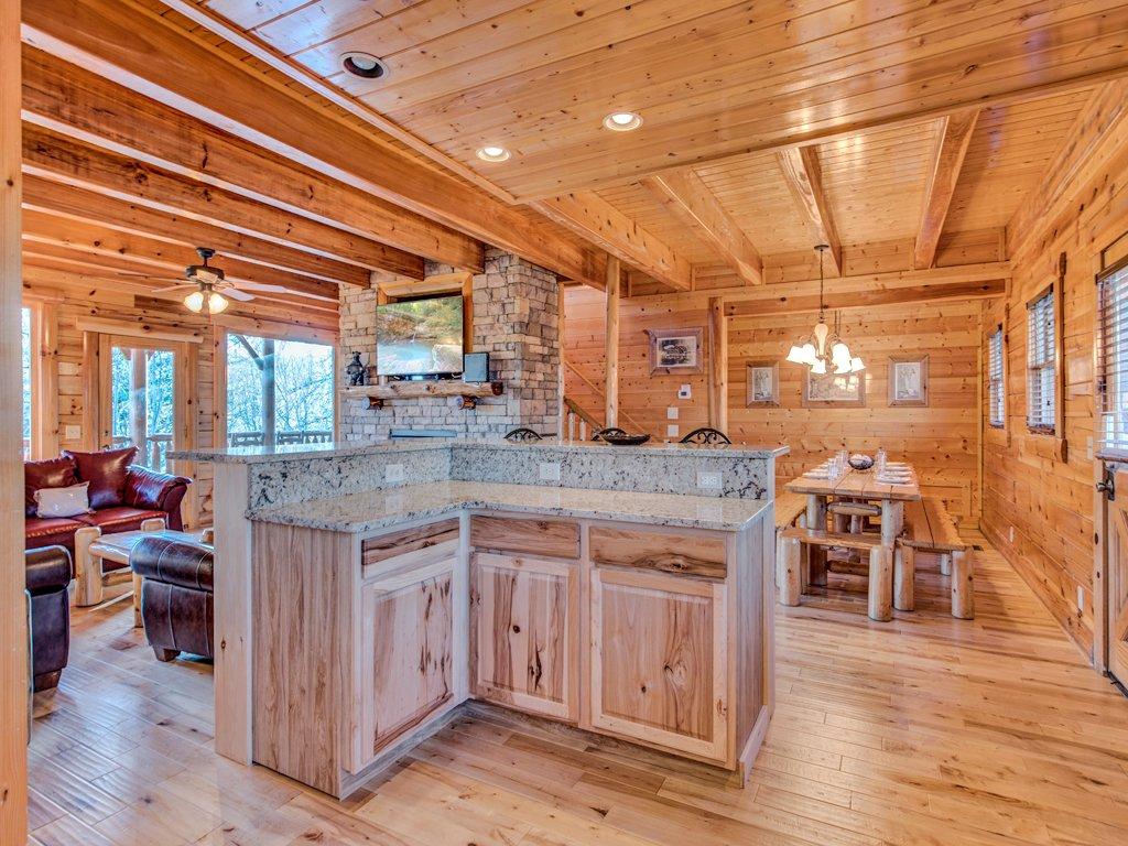 Photo of a Pigeon Forge Cabin named Majestic Highbearnation - This is the eighth photo in the set.