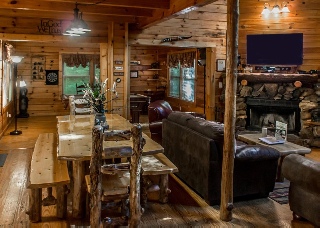 Photo Of A Pigeon Forge Cabin Named Rustic Elegance 4 This Is The