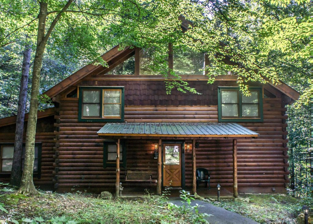 A Rustic Elegance #4 Cabin in Sevierville w/ 4 BR (Sleeps10)
