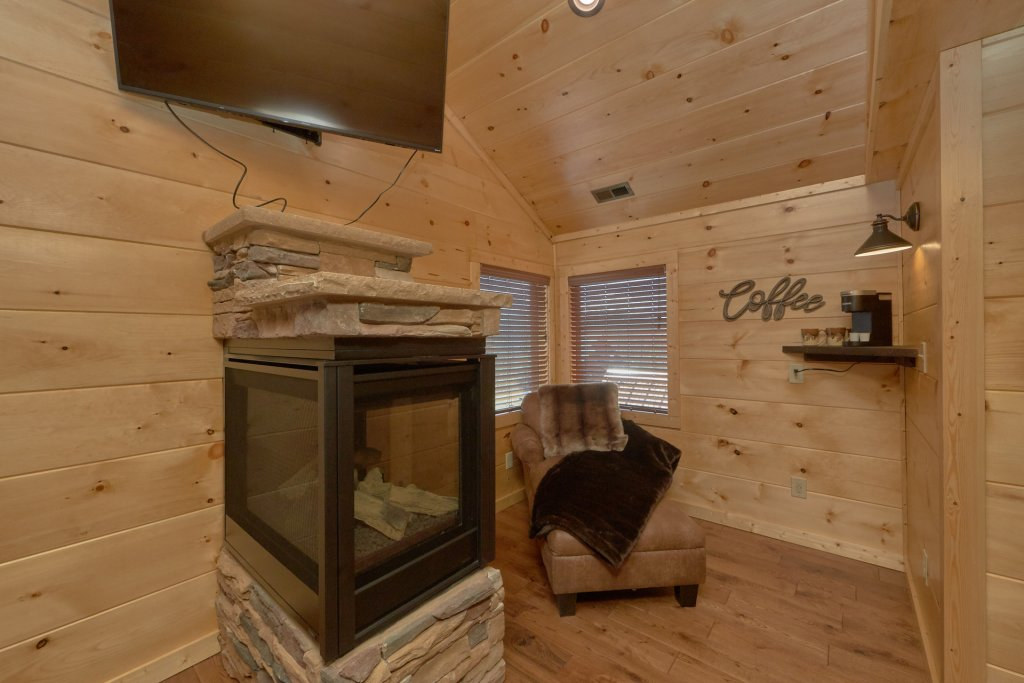 Photo of a Gatlinburg Cabin named Copper Creek Lodge - This is the third photo in the set.