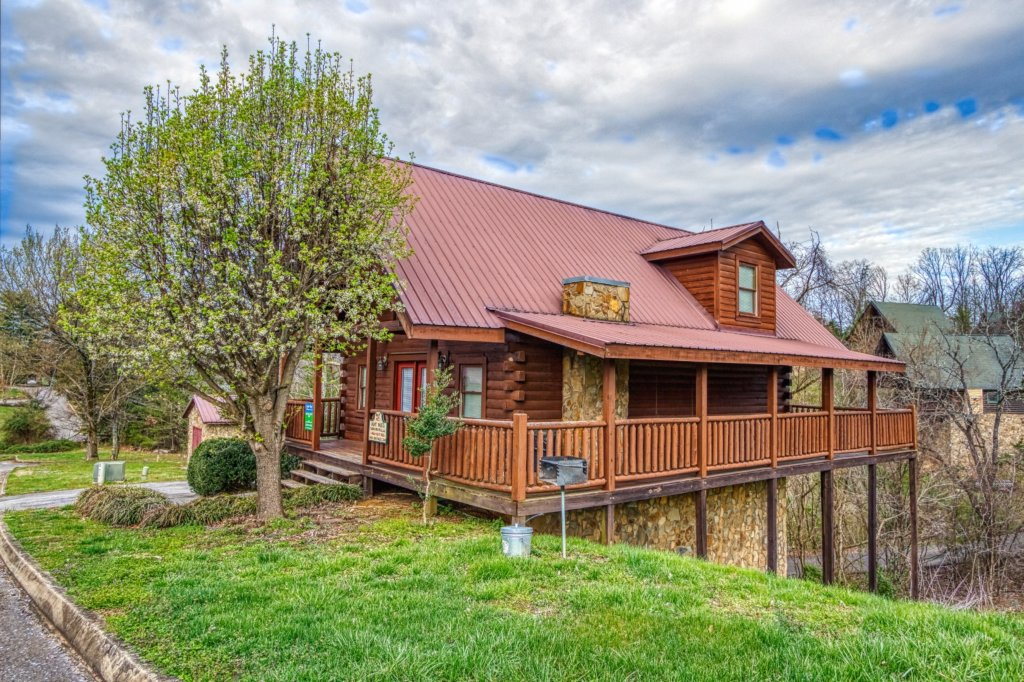 Photo of a Pigeon Forge Cabin named Amazing Grace #264 - This is the second photo in the set.