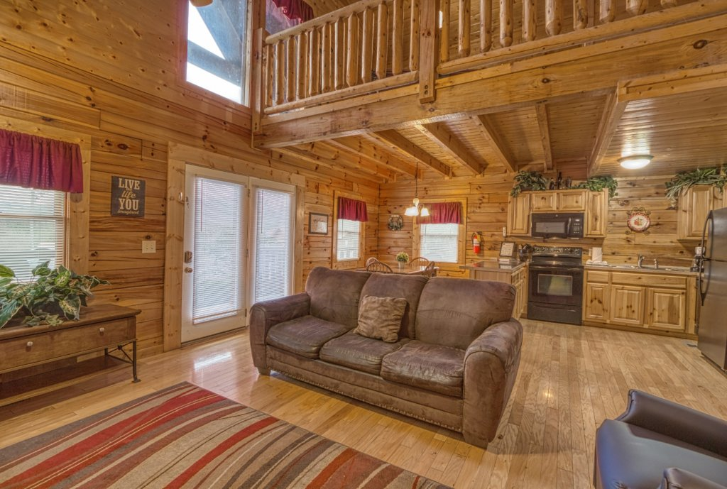 Photo of a Pigeon Forge Cabin named Amazing Grace #264 - This is the twelfth photo in the set.