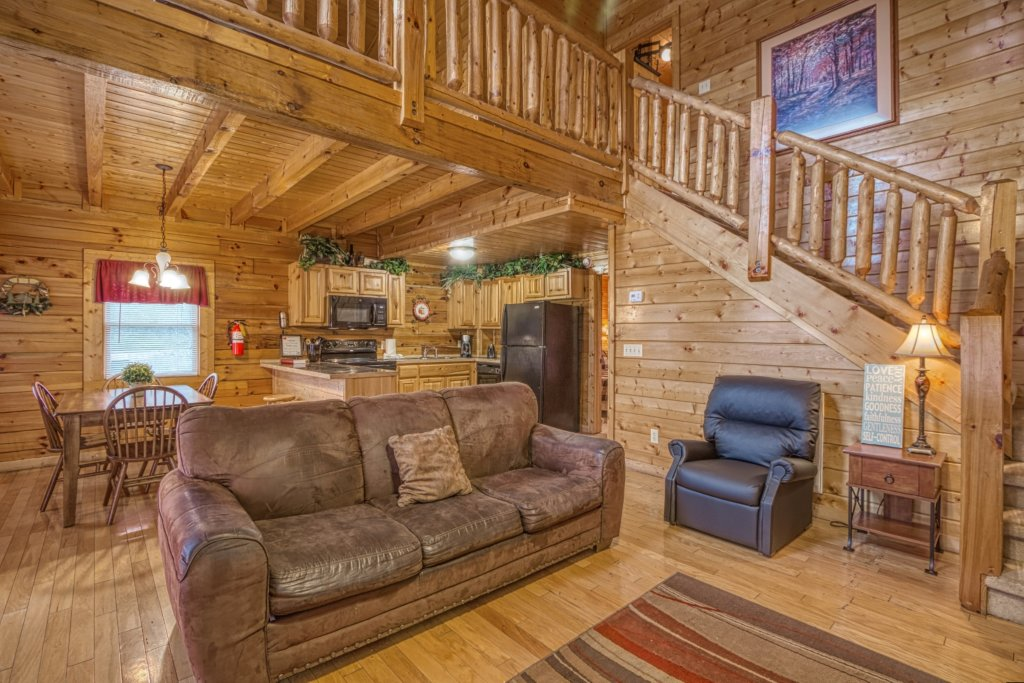 Photo of a Pigeon Forge Cabin named Amazing Grace #264 - This is the tenth photo in the set.