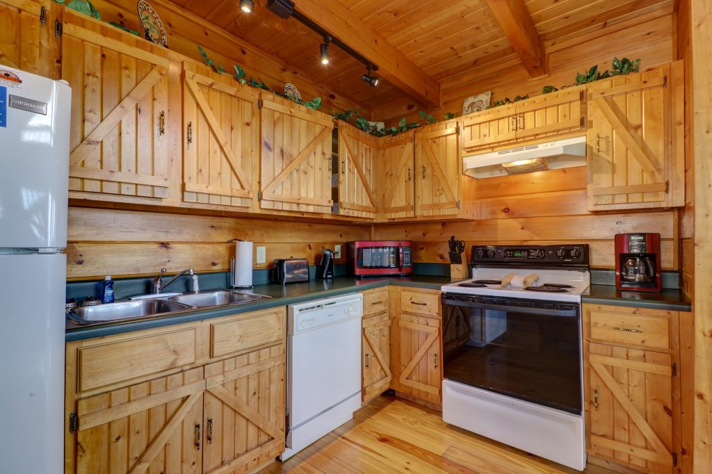 Photo of a Pigeon Forge Cabin named Sky View - This is the first photo in the set.