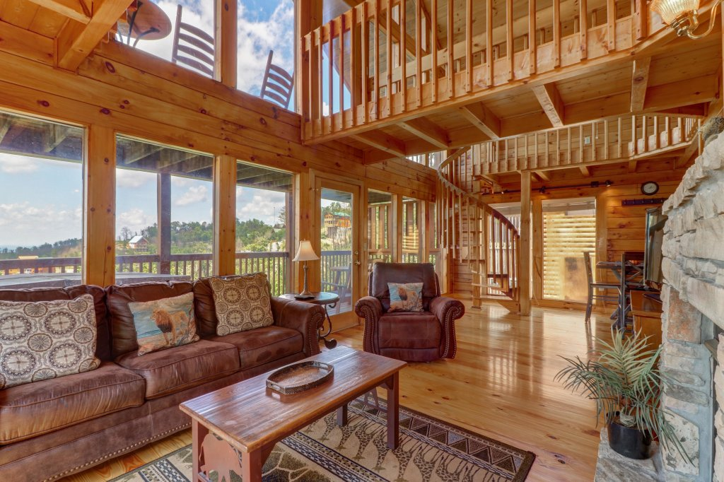 Photo of a Pigeon Forge Cabin named Sky View - This is the seventh photo in the set.