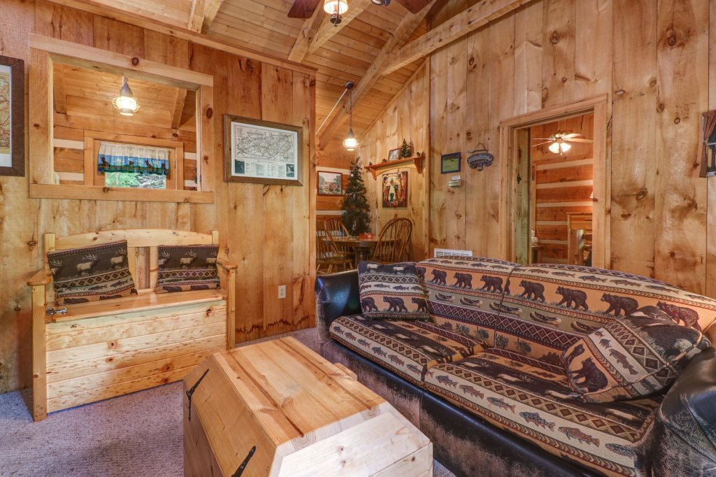 Photo of a Sevierville Cabin named Bears Heaven - This is the fifth photo in the set.