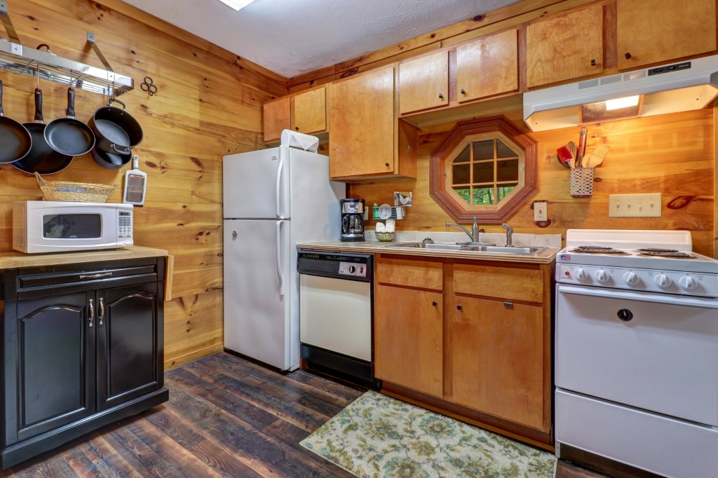 Photo of a Gatlinburg Cabin named Crescent Moon - This is the first photo in the set.