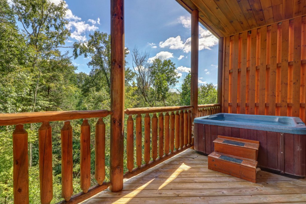 Photo of a Sevierville Cabin named Just For Fun - This is the eighth photo in the set.