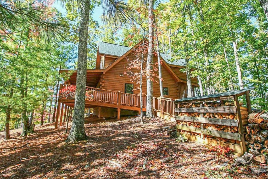 Photo of a Pigeon Forge Cabin named Mountain Splendor - This is the forty-first photo in the set.