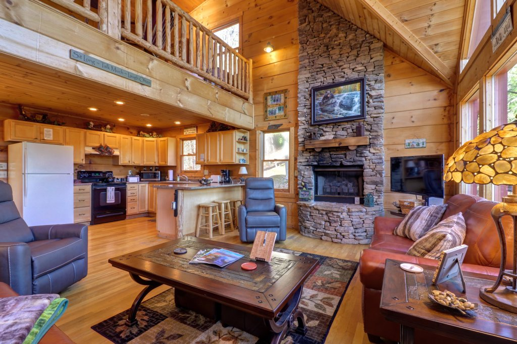 Photo of a Sevierville Cabin named Southern Comfort - This is the fourth photo in the set.