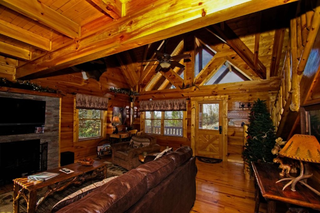 Photo of a Gatlinburg Cabin named Zip-a-dee-doo - This is the fifth photo in the set.