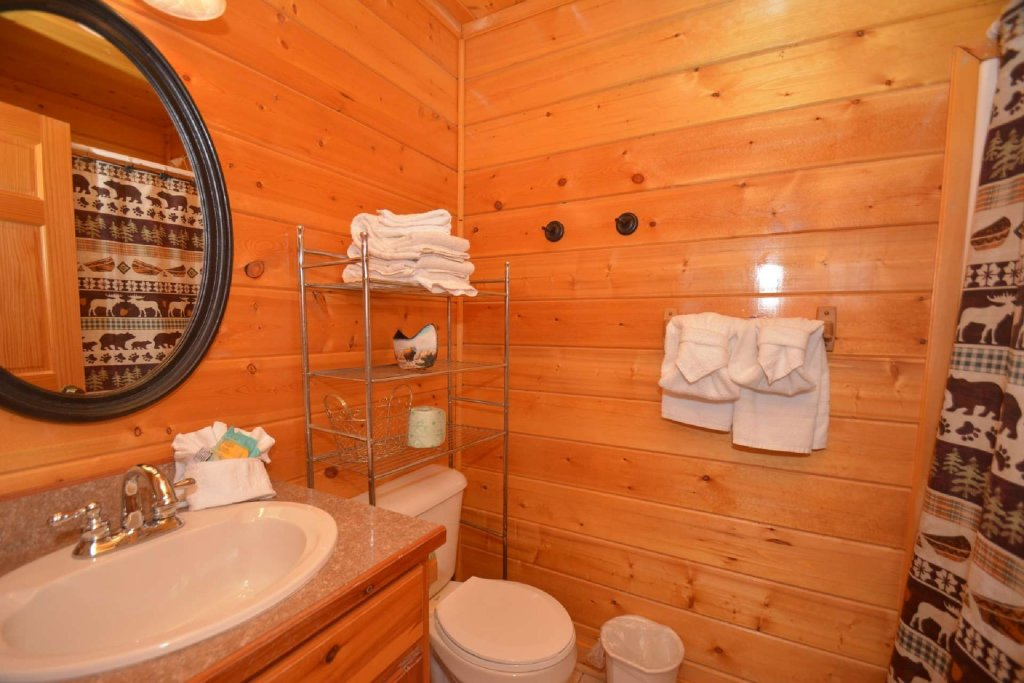 Photo of a Pigeon Forge Cabin named Kozy Lodge - This is the fifteenth photo in the set.