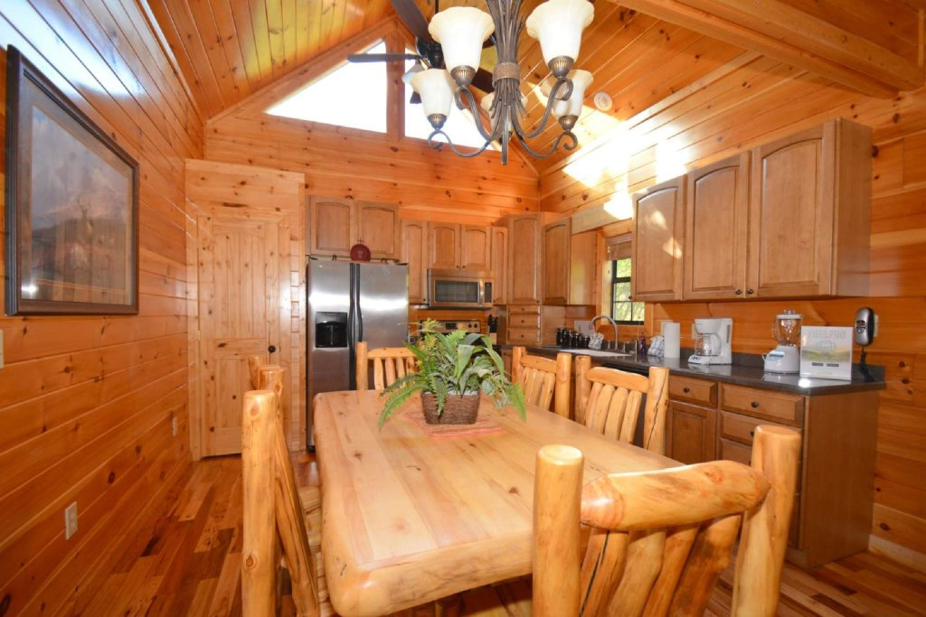 Photo of a Gatlinburg Cabin named Lakeside And Lovin It - This is the second photo in the set.