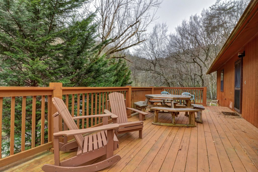 Photo of a Gatlinburg Cabin named Lazy Creek Retreat - This is the first photo in the set.