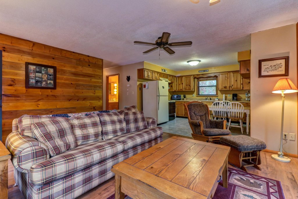 Photo of a Gatlinburg Cabin named Lazy Creek Retreat - This is the ninth photo in the set.