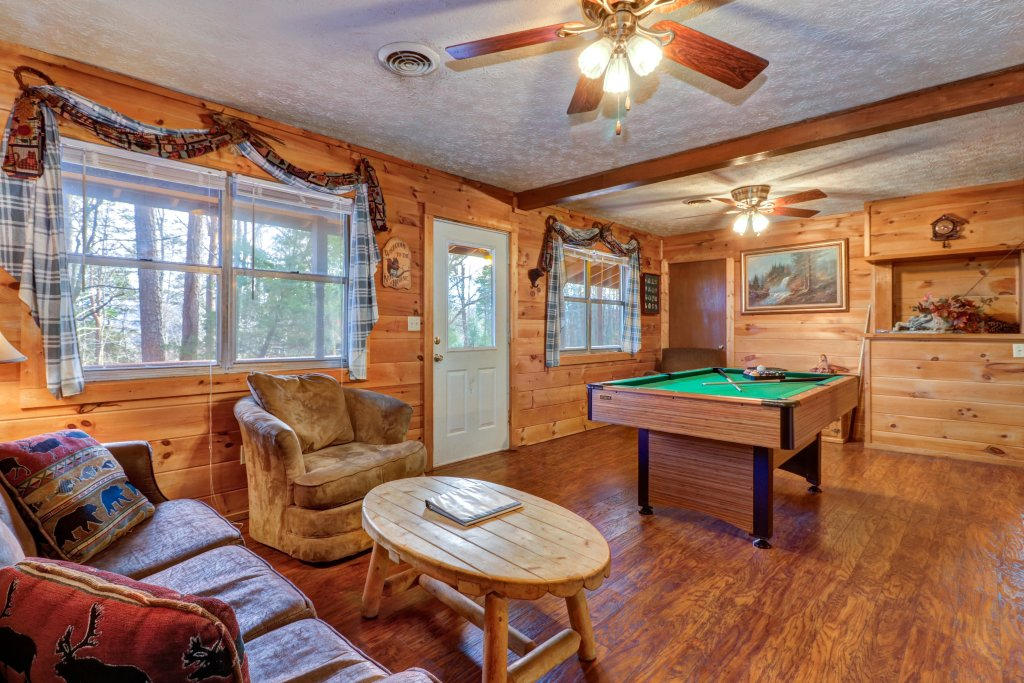 Photo of a Pigeon Forge Cabin named A Walk In The Woods - This is the first photo in the set.