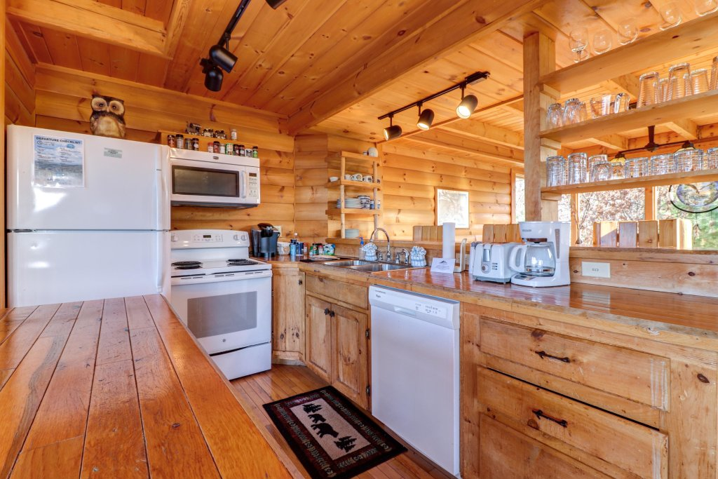 Photo of a Pigeon Forge Cabin named Kodiak #45 - This is the fourth photo in the set.