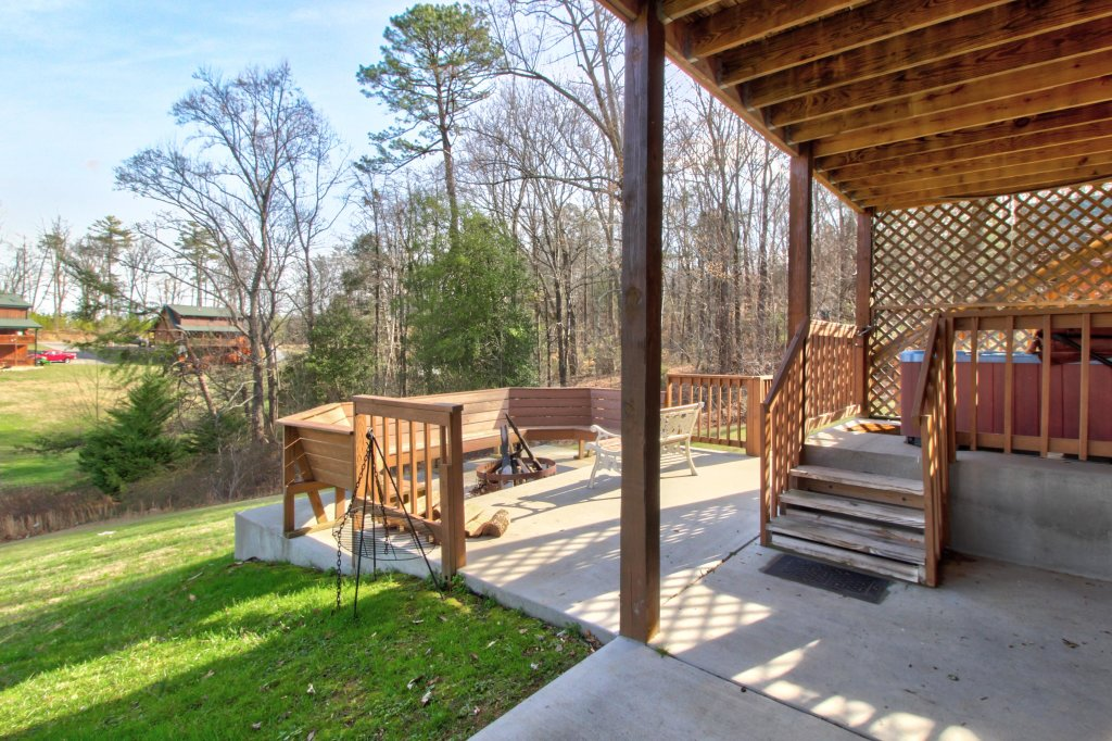 Photo of a Sevierville Cabin named Fit For Kings Cabin - This is the thirty-third photo in the set.