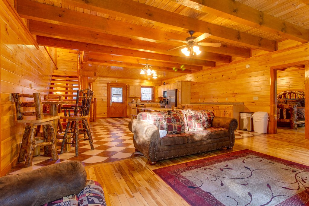 Photo of a Pigeon Forge Cabin named Mountain Cinema Lodge - This is the fourth photo in the set.