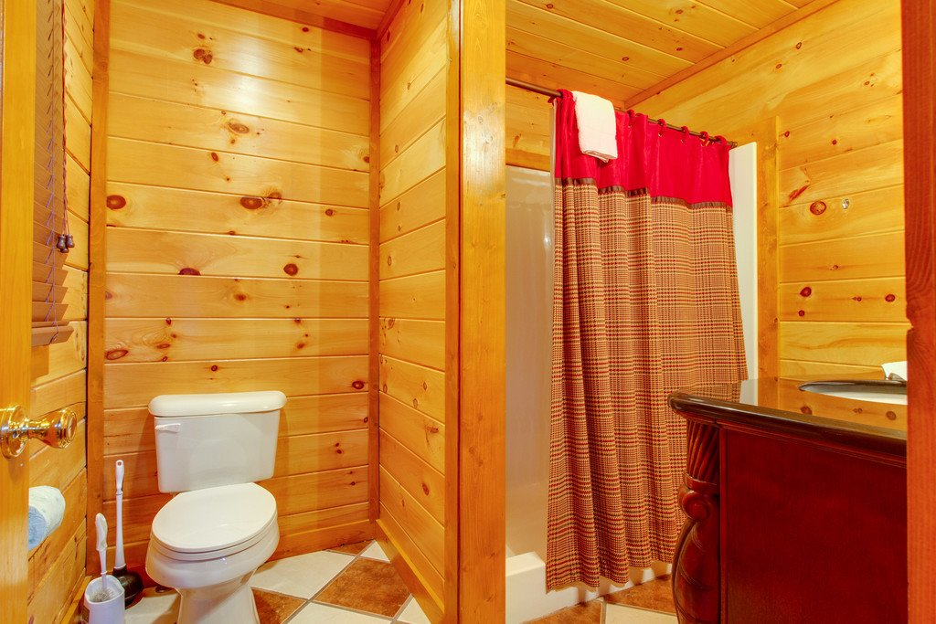 Photo of a Pigeon Forge Cabin named Mountain Cinema Lodge - This is the fiftieth photo in the set.