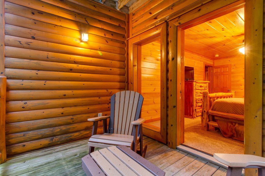Photo of a Pigeon Forge Cabin named Mountain Cinema Lodge - This is the forty-ninth photo in the set.