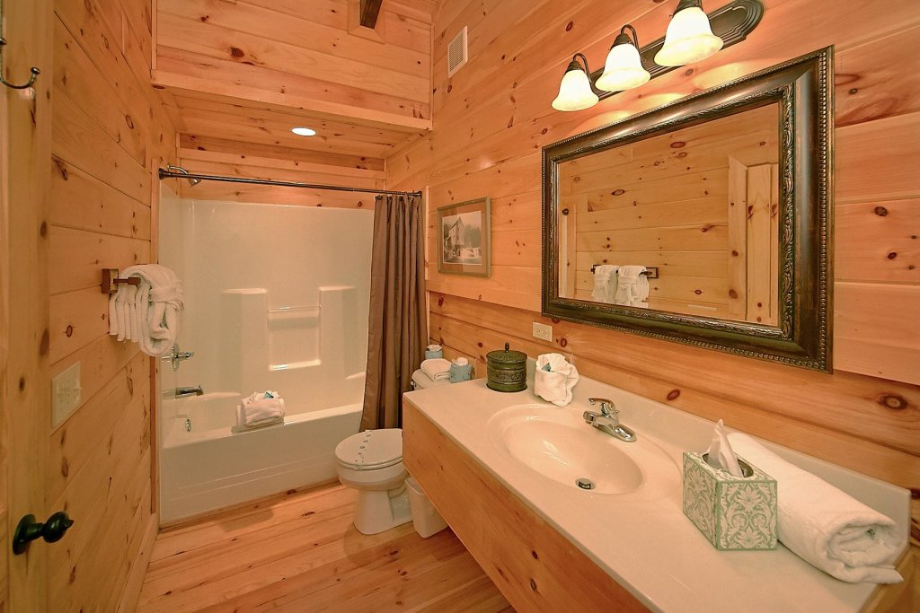 Photo of a Pigeon Forge Cabin named Mountain Magic #73 - This is the tenth photo in the set.