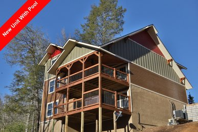 Serene Oasis A Brand New 4br Cabin With Indoor Pool.
