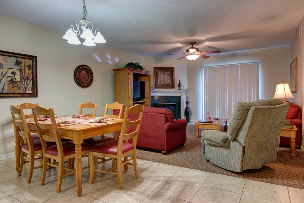Photo of a Pigeon Forge Condo named Whispering Pines 114 - This is the first photo in the set.