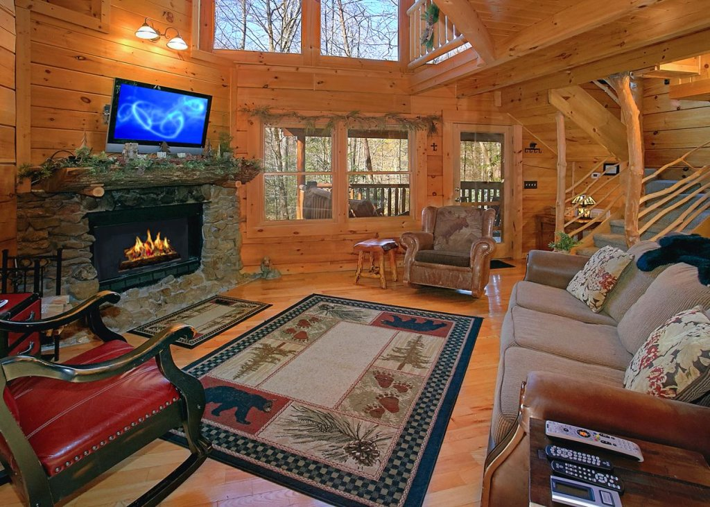 Photo of a Pigeon Forge Cabin named Bear Paw Trail #15 - This is the fifth photo in the set.