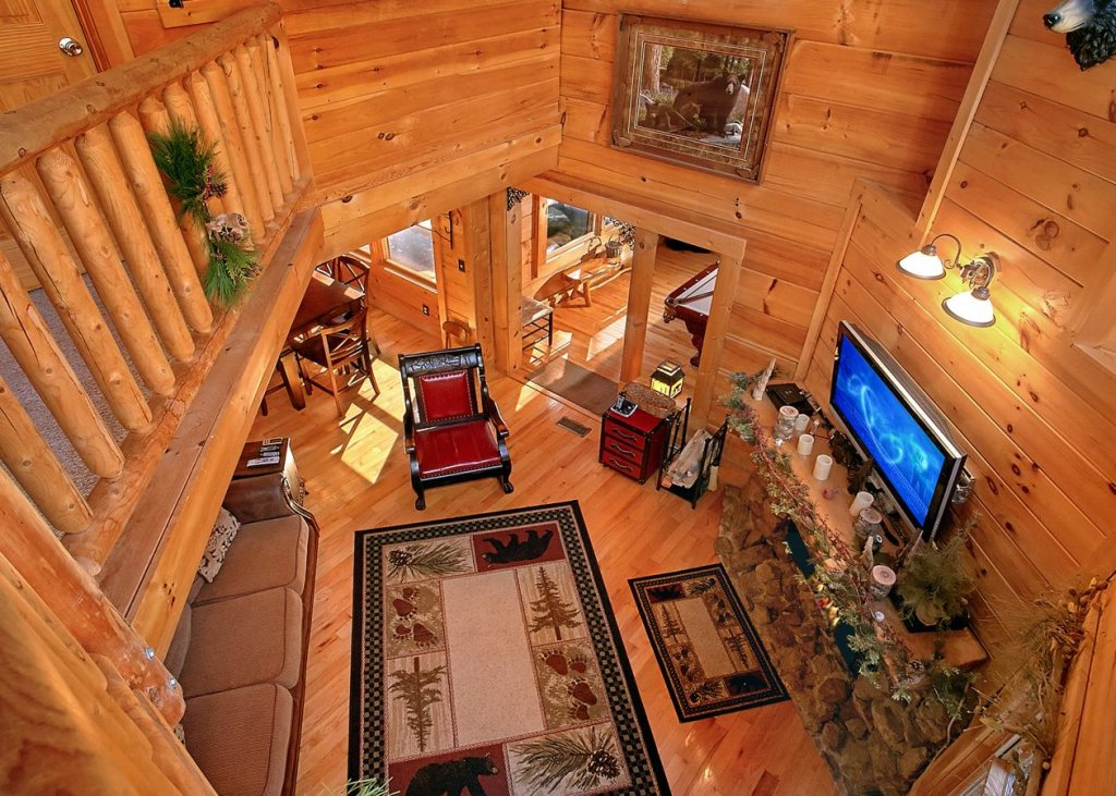 Photo of a Pigeon Forge Cabin named Bear Paw Trail #15 - This is the fourth photo in the set.