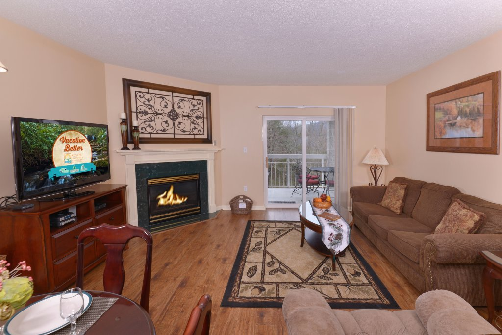 Photo of a Pigeon Forge Condo named Whispering Pines 411 - This is the fourth photo in the set.