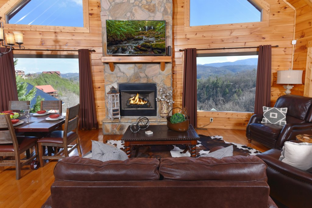 Photo of a Pigeon Forge Cabin named Mountain Splendor - This is the twelfth photo in the set.
