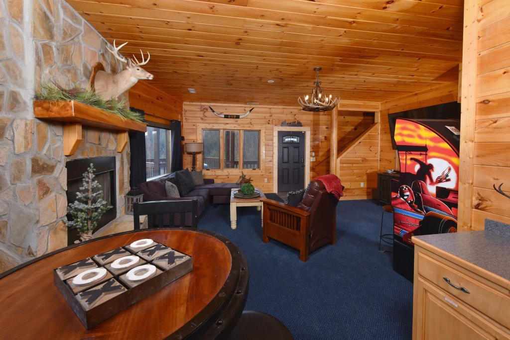 Photo of a Sevierville Cabin named Mountain Splendor - This is the sixtieth photo in the set.