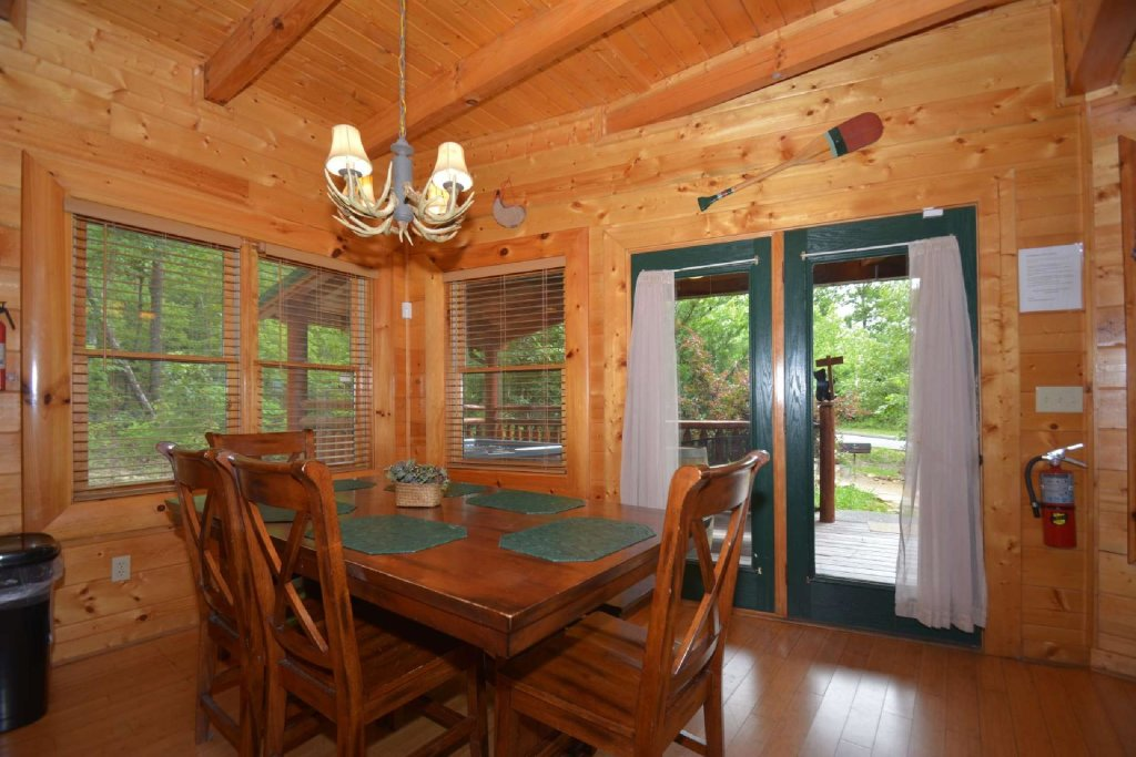 Photo of a Sevierville Cabin named Kozy Lodge - This is the second photo in the set.