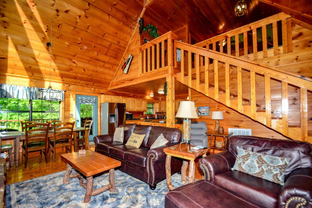 Photo of a Pigeon Forge Cabin named Dogwood Ridge - This is the first photo in the set.