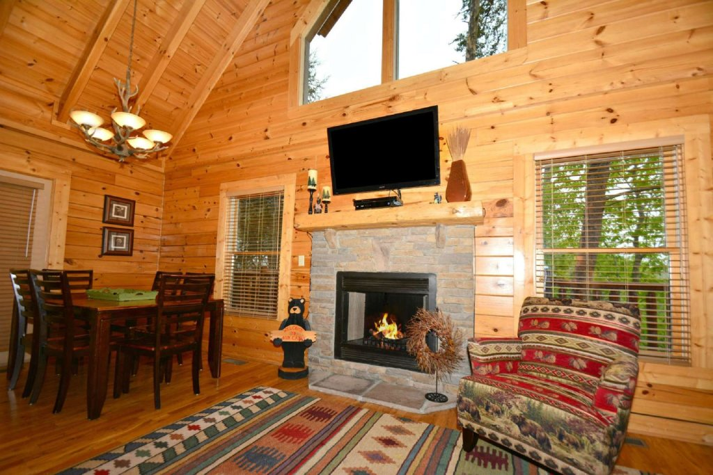Photo of a Pigeon Forge Cabin named Smoky Mountain Haven - This is the fifth photo in the set.