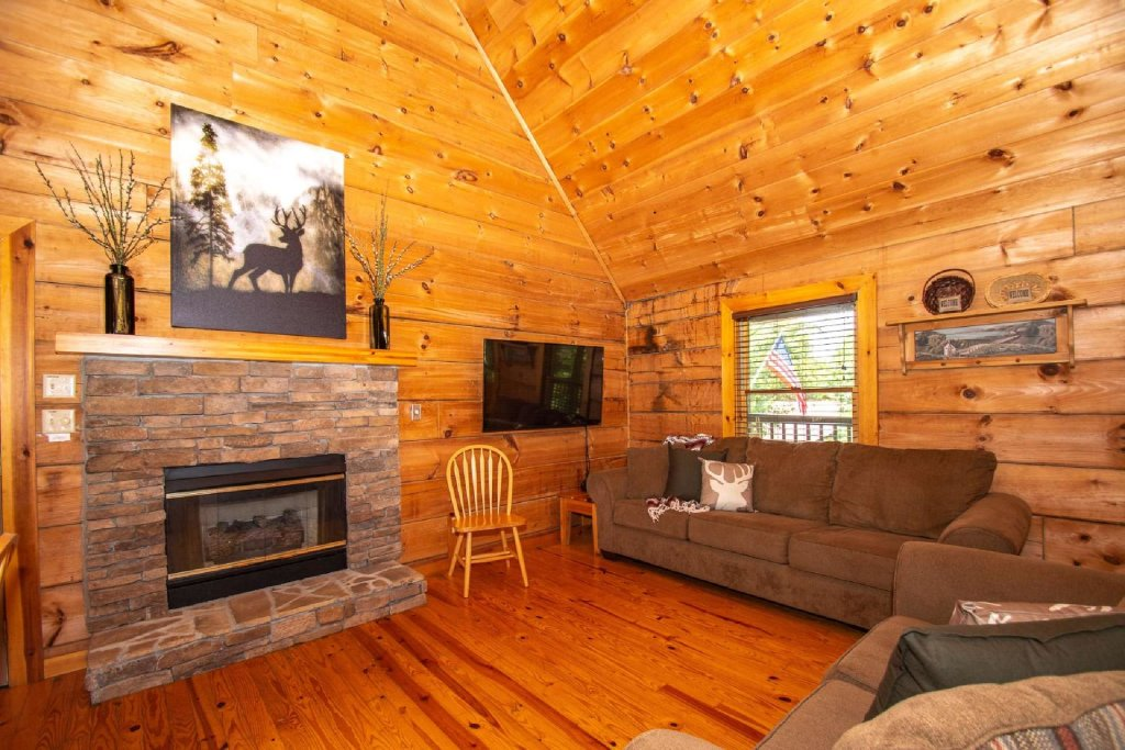 Photo of a Sevierville Cabin named Marietta's Dream - This is the sixth photo in the set.